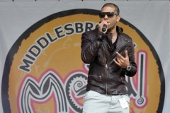 The annual Middlesbrough Mela was held in it's new home of Centre Square in the town centre on Sunday afternoon with a great mix of food, fun, dance and singing. Notorious Jatt on stage